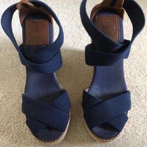 Tory Burch Women's Frieda Espadrille Sandals